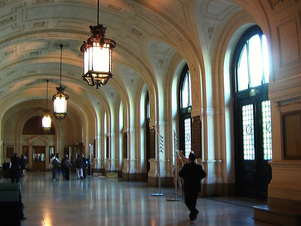 Galeria - Université Paris 1 Panthéon-Sorbonne - hall entree ...