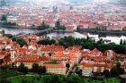 miniatura View over Prague Old Town
